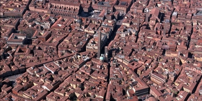 City center of Bologna